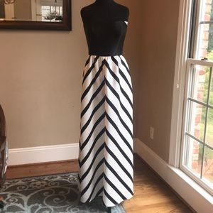 Alfred Sung Style D724P Size 8 Color Black/Ivory